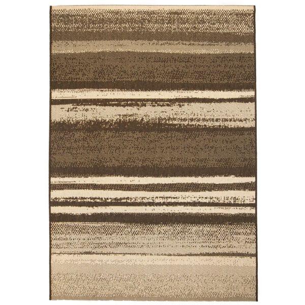 vidaXL Covor aspect sisal de interior/exterior, 160 x 230 cm, dungi