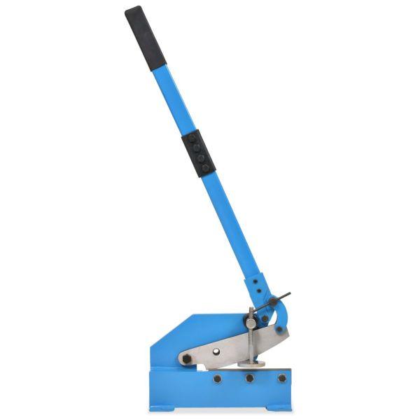 vidaXL Foarfecă cu pârghie pentru metal, 200 mm, Albastru