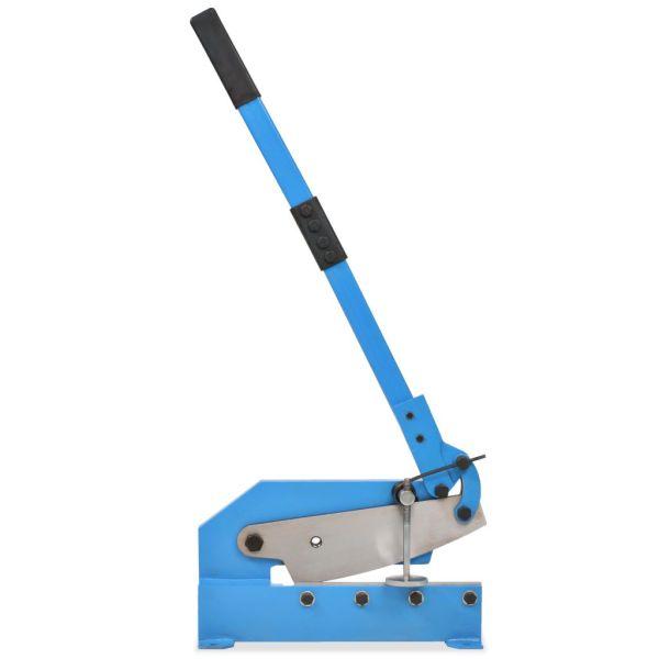 vidaXL Foarfecă ghilotină, albastru, 300 mm