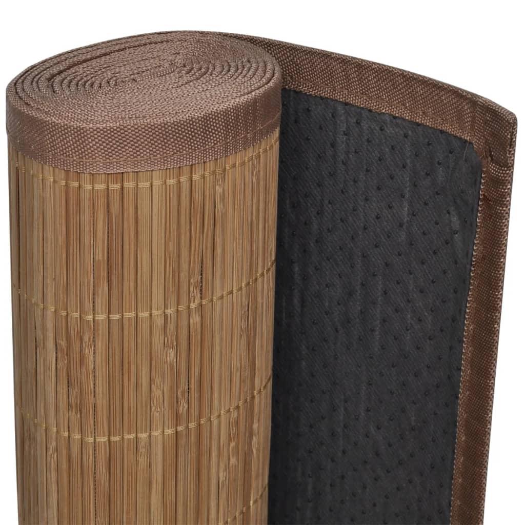 Covor din bambus 100×160 cm Maro