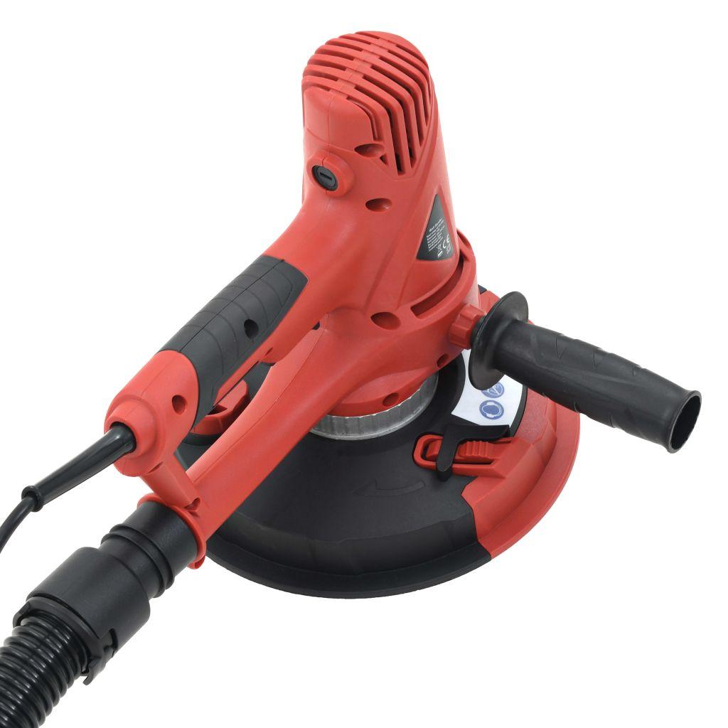vidaXL Mașină de șlefuit rigips cu funcție de aspirare, 710 W