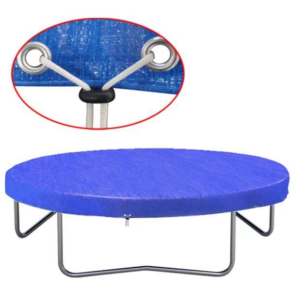 vidaXL Husă de trambulină, 450-457 cm, PE, 90 g/m²