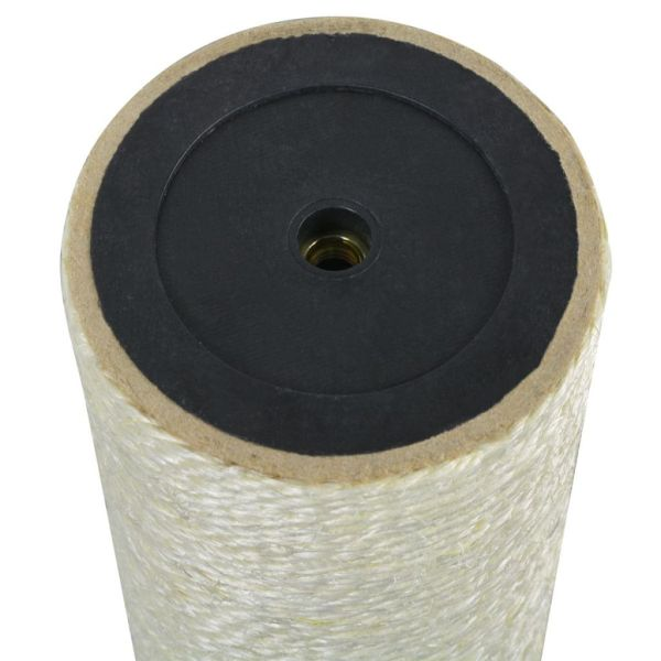 vidaXL Ansamblu de joacă pentru pisici 8 x 40 cm, 8 mm, bej