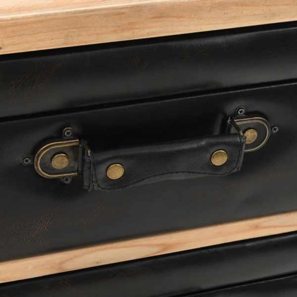 Dulap cu sertare, lemn masiv de brad, 80 x 36 x 75 cm
