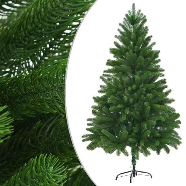 vidaXL Brad de Crăciun artificial, ace cu aspect natural, 180 cm verde