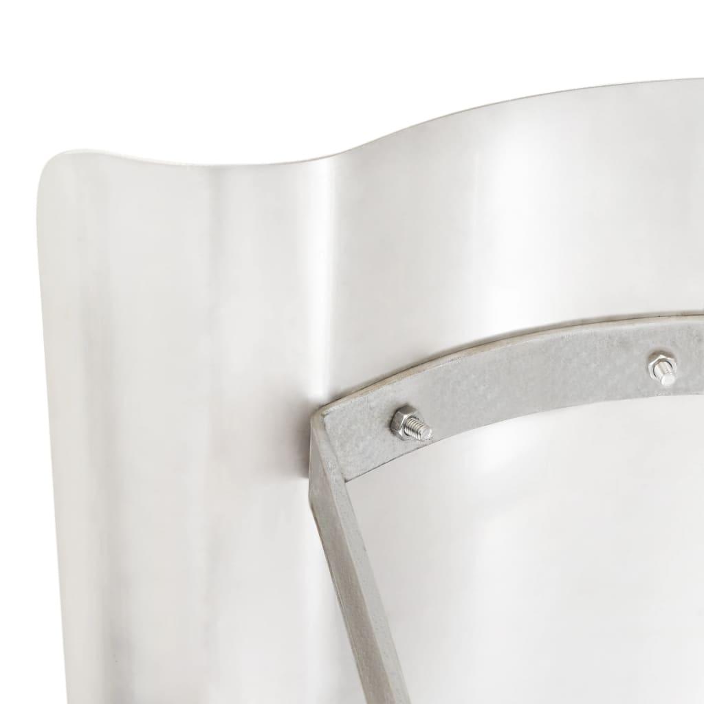 Apărătoare de horn, oțel inoxidabil, argintiu