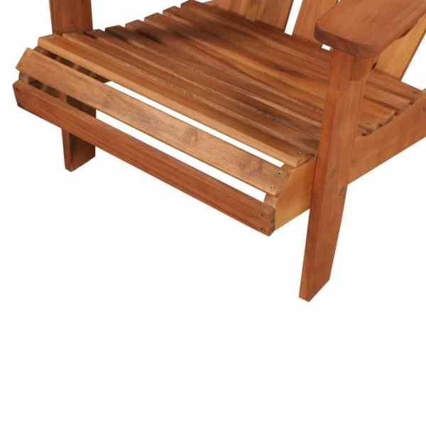 vidaXL Scaun de grădină Adirondack, lemn masiv de acacia