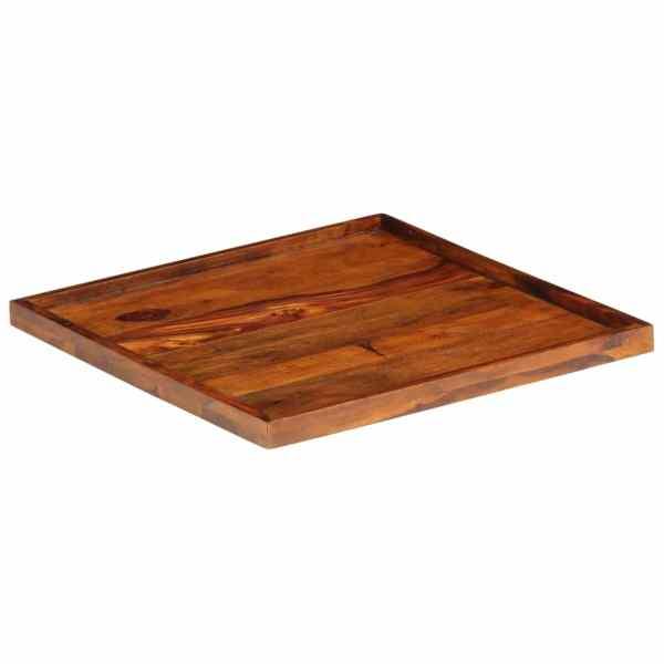 vidaXL Tavă de servit, 50 x 50 cm, lemn masiv de sheesham