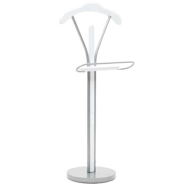 vidaXL Cuier pentru costum, 45 x 35 x 107 cm, alb