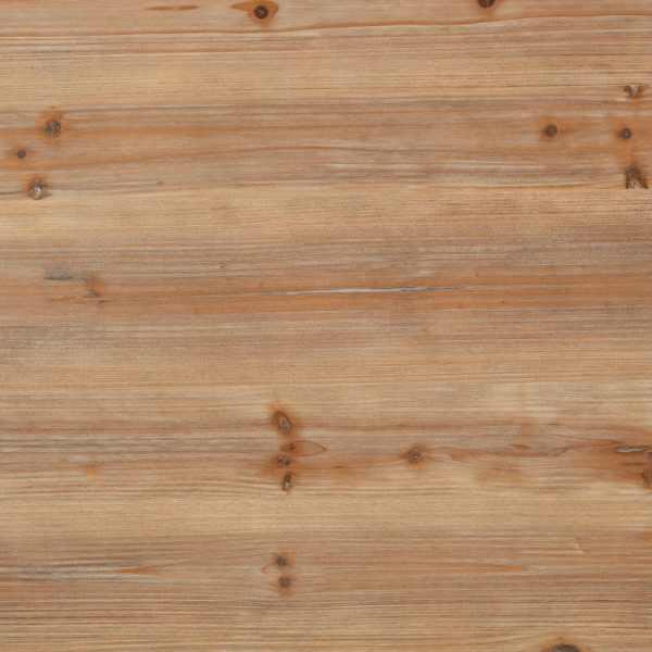 Birou cu piedestal, lemn masiv de brad și oțel, 100x50x76 cm