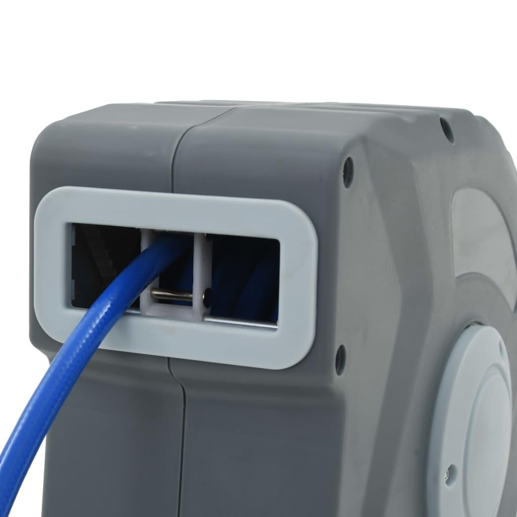 vidaXL Rolă automată cu furtun de aer 3/8″, 12 m