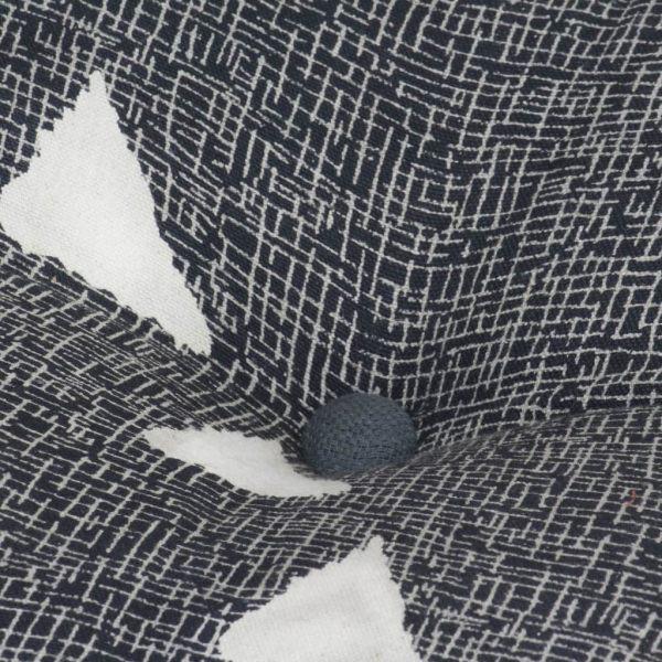 Set canapea modulară, 16 piese, material textil, dungi