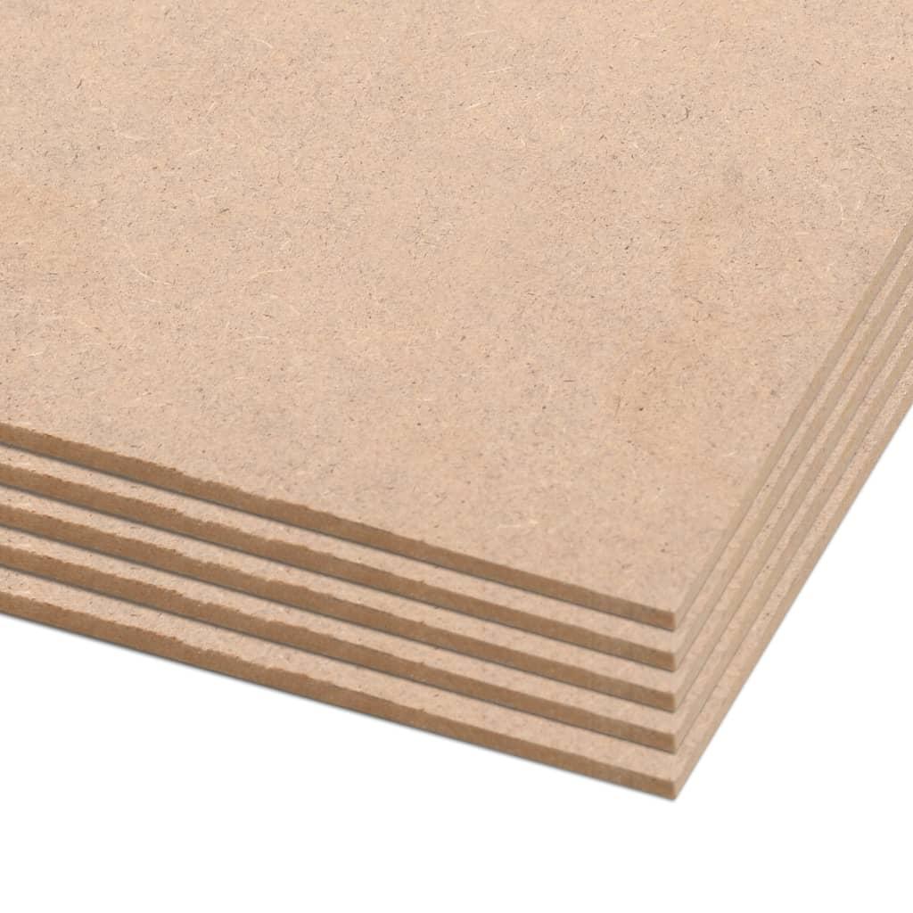 vidaXL Plăci postere DIN A1, 10 buc., 841 x 594 x 3 mm, HDF