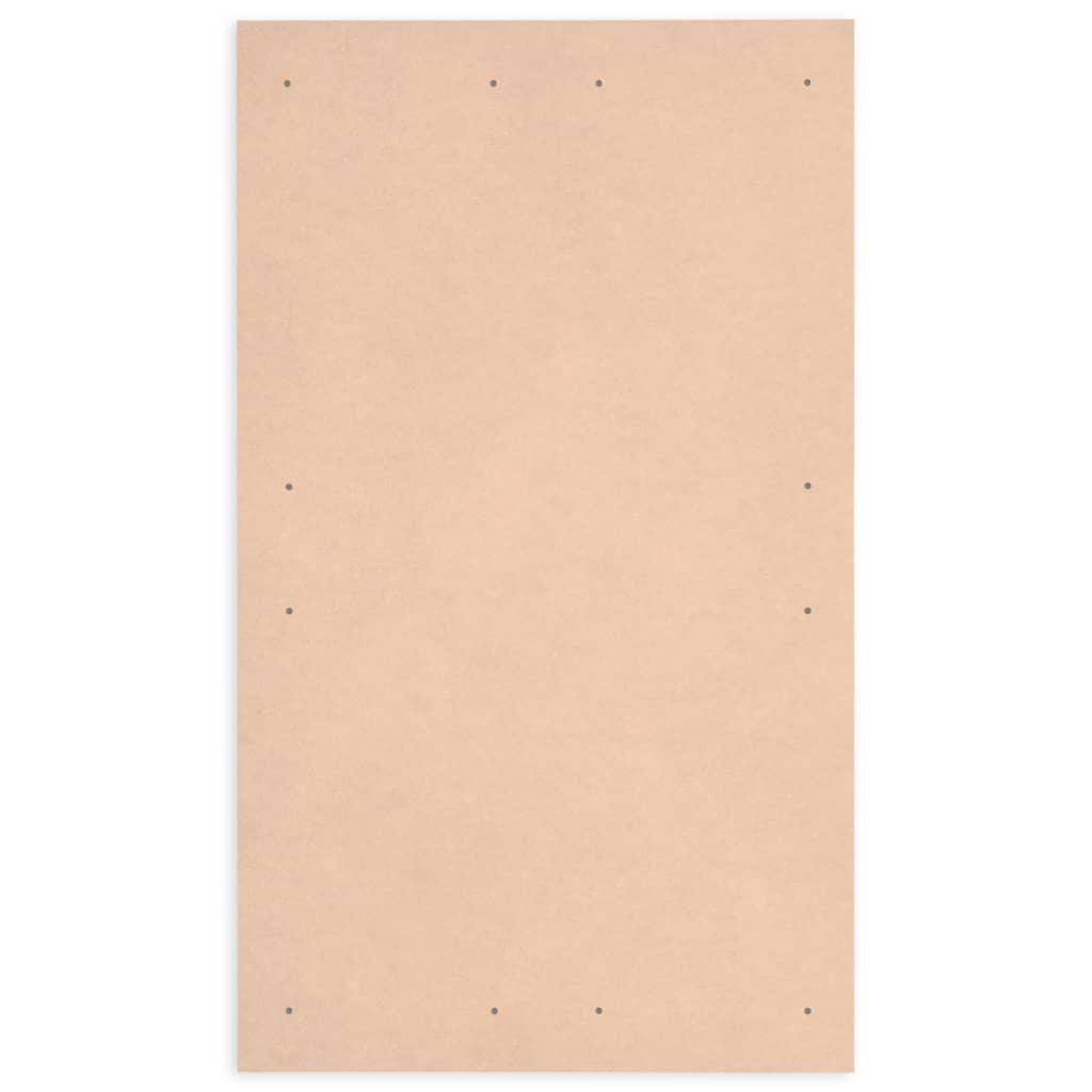 vidaXL Plăci postere DIN A1, 10 buc., 860 x 620 x 3 mm, HDF
