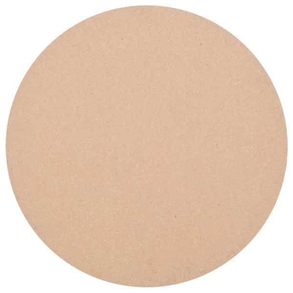vidaXL Blat de masă din MDF, rotund, 500 x 18 mm