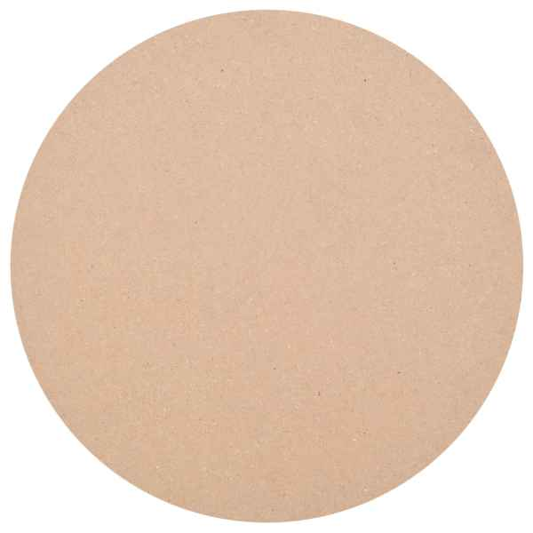 vidaXL Blat de masă rotund, MDF, 800 x 18 mm