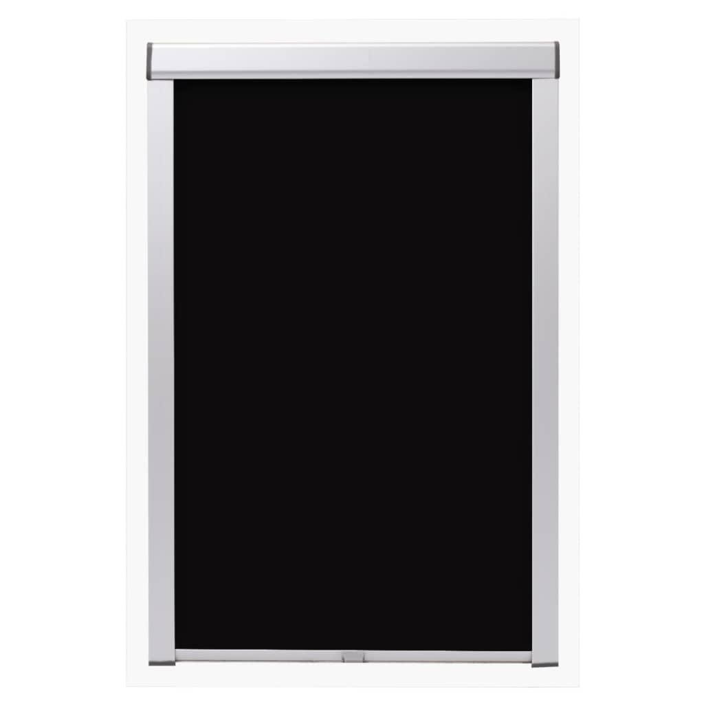 Jaluzea opacă tip rulou, negru, FK06