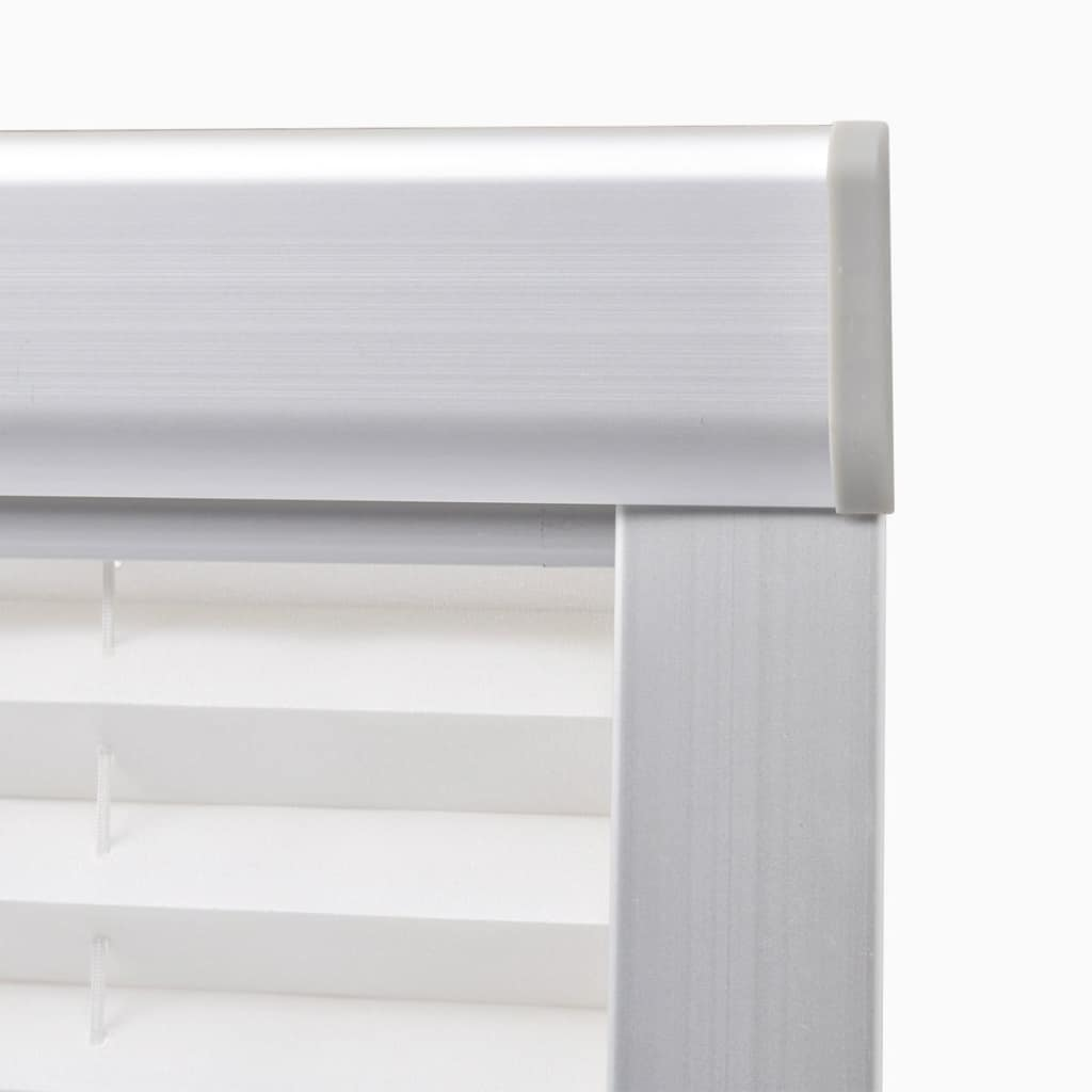 Jaluzea plisată, alb, MK08