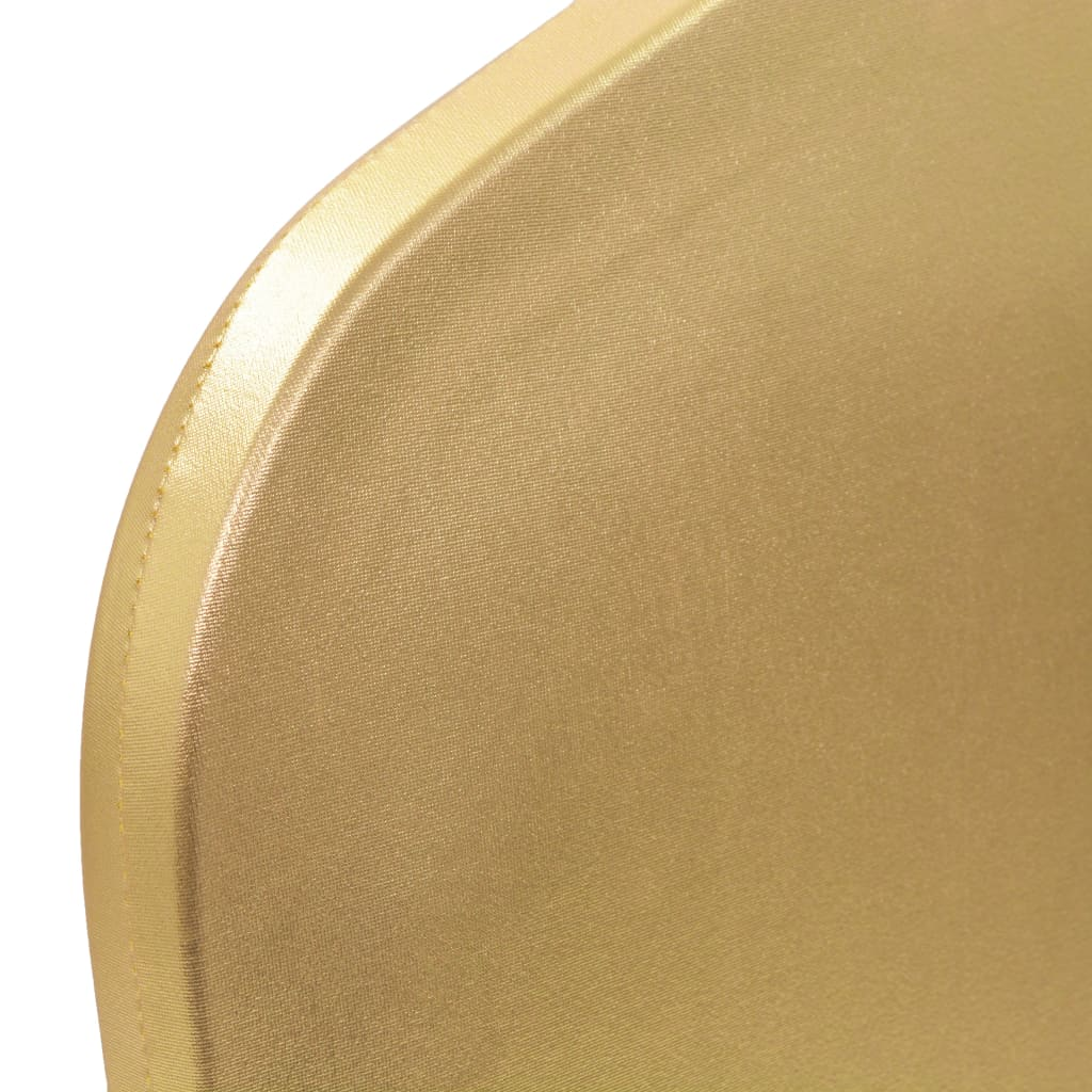 Huse elastice pentru scaun, 25 buc., auriu