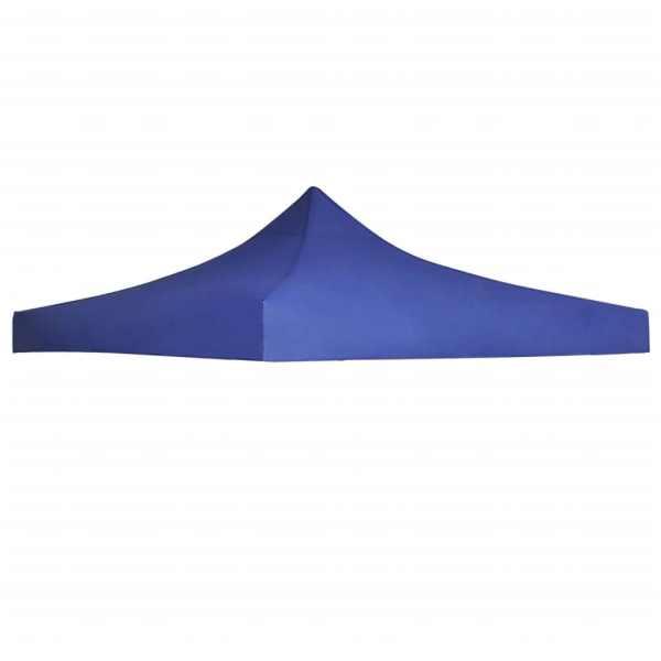 vidaXL Acoperiș cort de petrecere, albastru, 3 x 3 m