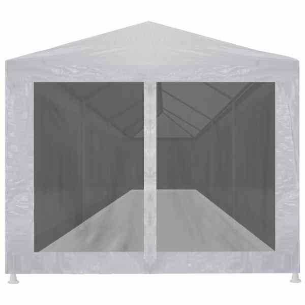 vidaXL Cort de petrecere cu 10 pereți din plasă, 12 x 3 m