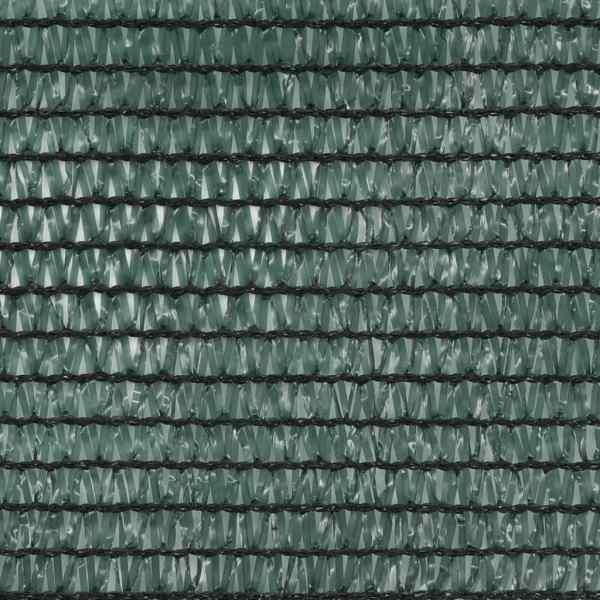 vidaXL Plasă teren de tenis, verde, 1,4 x 25 m, HDPE