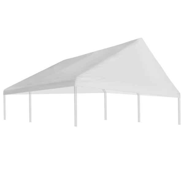 Acoperiș cort de petrecere, alb, 3 x 4 m