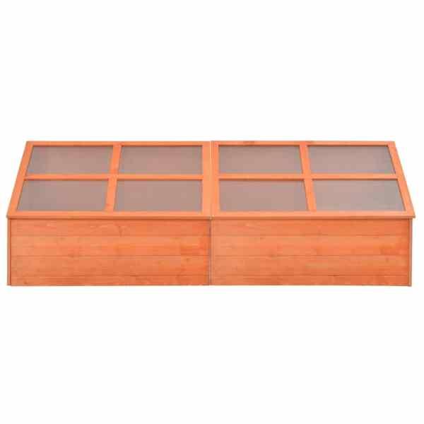 Seră din lemn, 180 x 57 x 62 cm