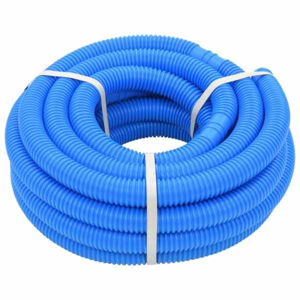 vidaXL Furtun de piscină, albastru, 32 mm, 12,1 m
