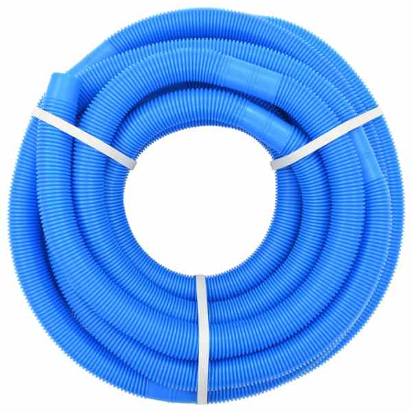 vidaXL Furtun de piscină, albastru, 38 mm, 15 m
