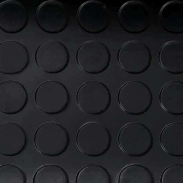 vidaXL Covor anti-alunecare, 1,5×4 m, cauciuc, cu puncte, 3 mm