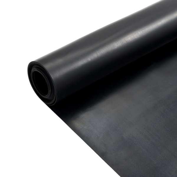 vidaXL Covor de cauciuc anti-alunecare, 1,2 x 2 m, 1 mm, neted