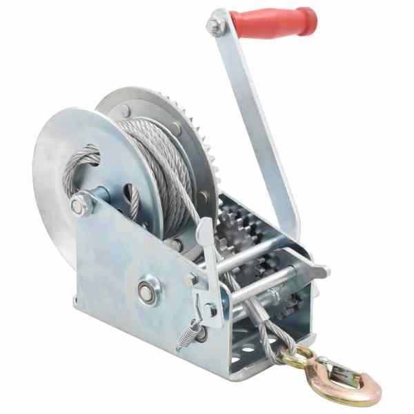 vidaXL Troliu manual, 1360 kg