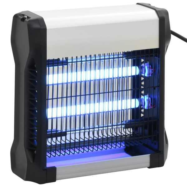 vidaXL Aparat anti-insecte, negru, aluminiu ABS, 12 W