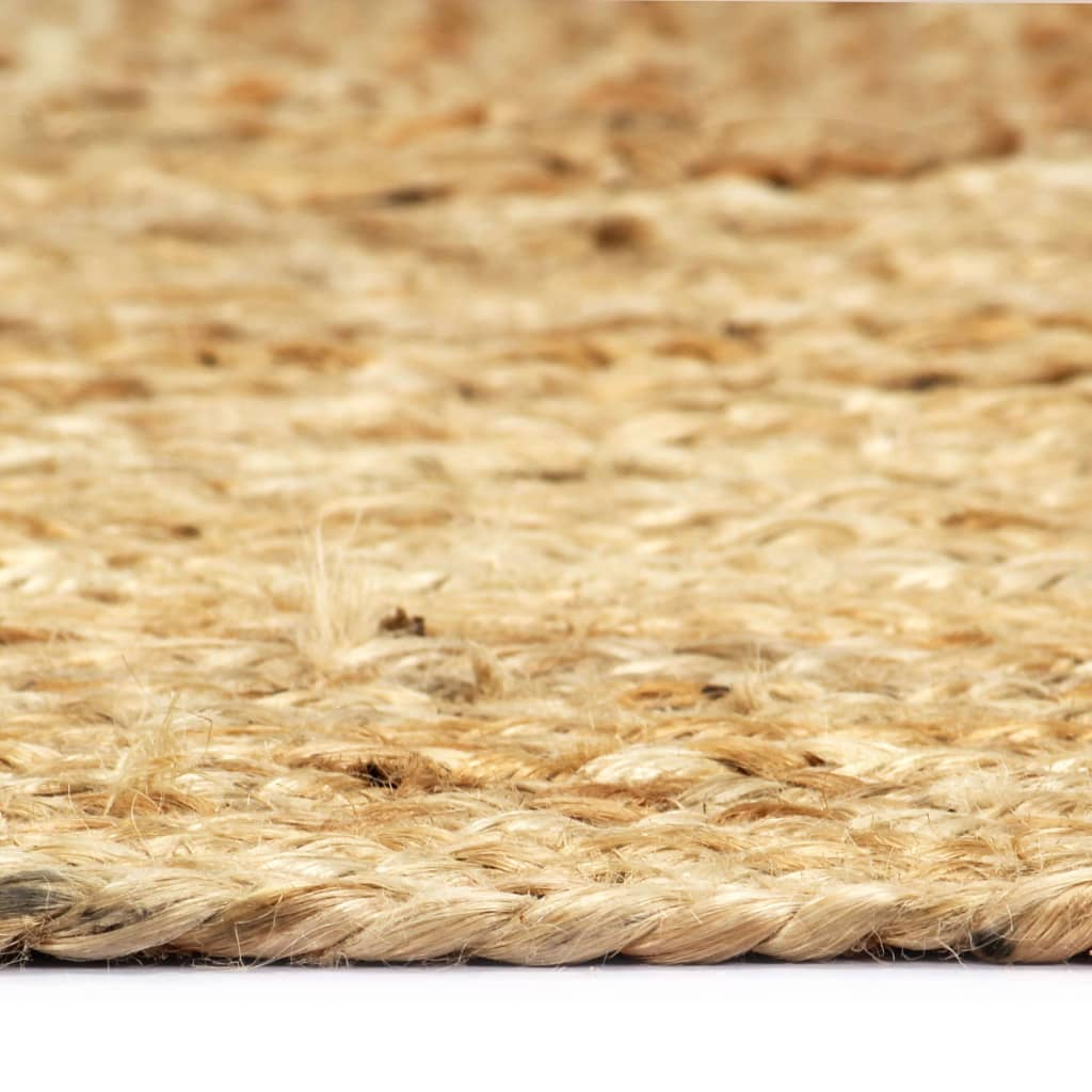 Covor manual, natural, 160 x 230 cm, iută