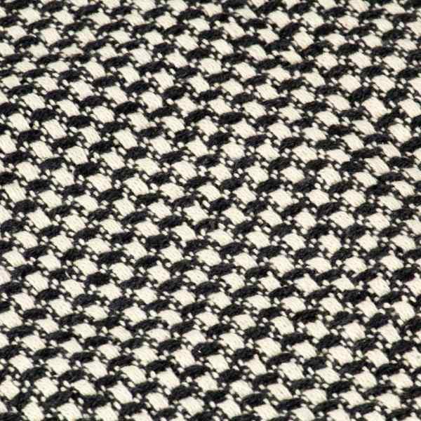 vidaXL Pătură decorativă, antracit, 160 x 210 cm, bumbac