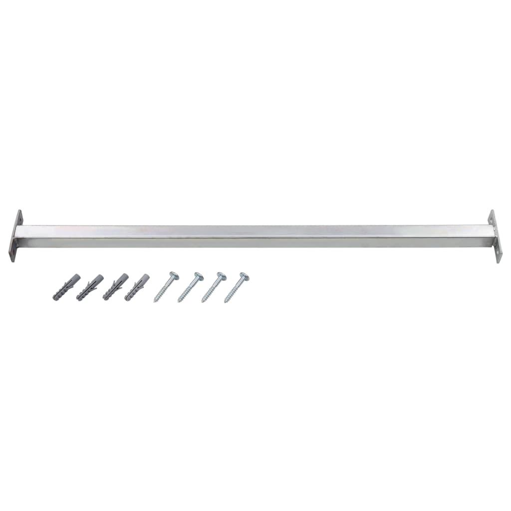 vidaXL Bară de siguranță pentru fereastră, reglabilă, 710-1200 mm