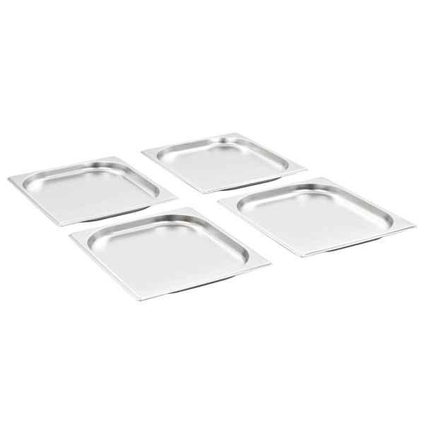 Recipiente Gastronorm 8 buc. GN 1/2 20 mm oțel inoxidabil