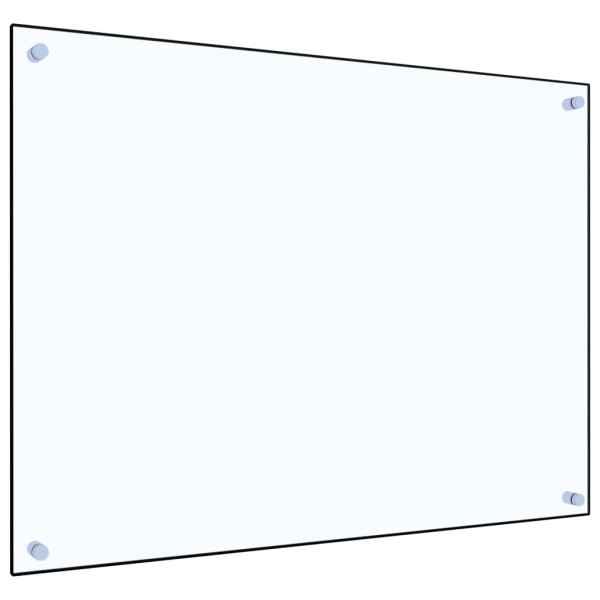 Panou antistropi bucătărie transparent 80×60 cm sticlă securiz.