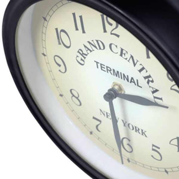 vidaXL Ceas de perete cu două fețe, 20 cm