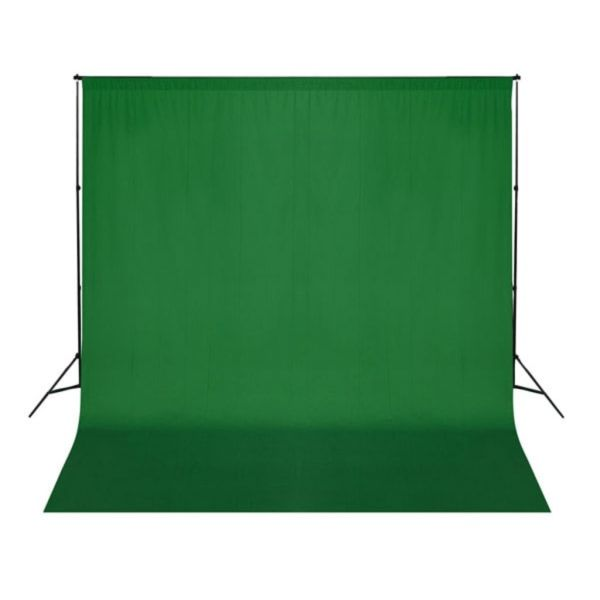 vidaXL Fundal verde, 300 x 300 cm, Chroma Key