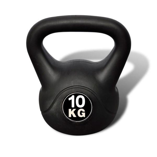 Greutate tip bilă cu mâner Kettlebell 10 kg