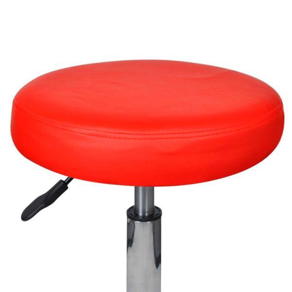 vidaXL Scaun de birou roșu