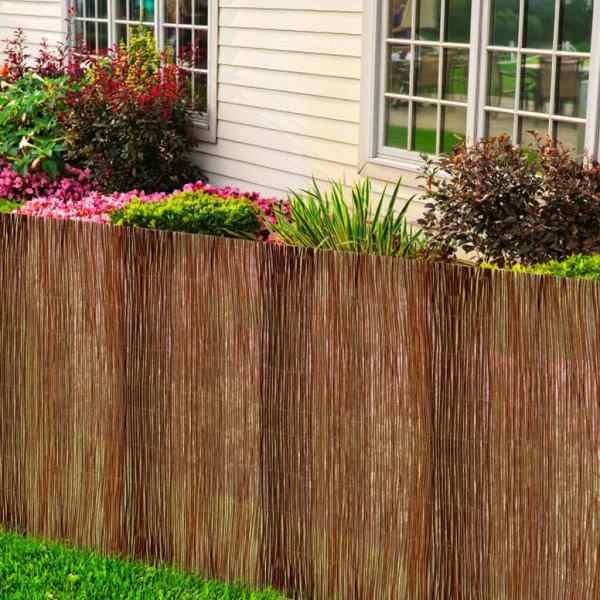 Gard din salcie, 500 x 100 cm