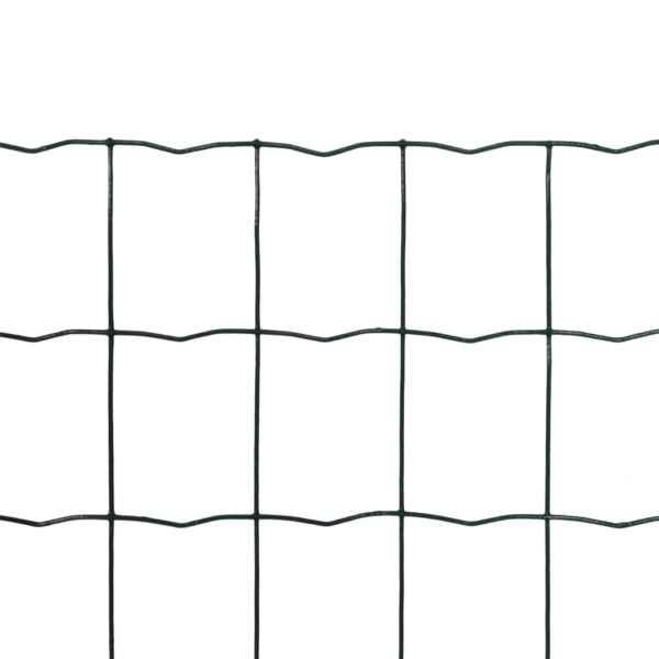 Euro gard, verde, 10 x 1,5 m, oțel