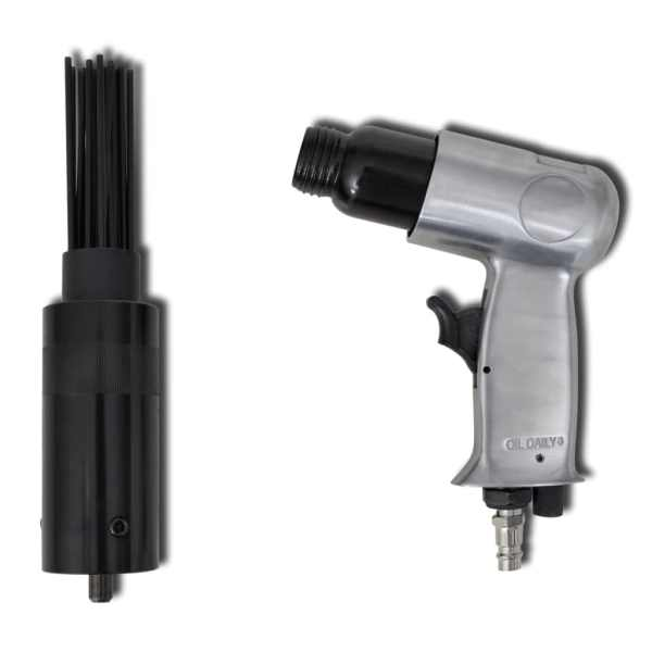 vidaXL Pistol pneumatic de curățat cu ace