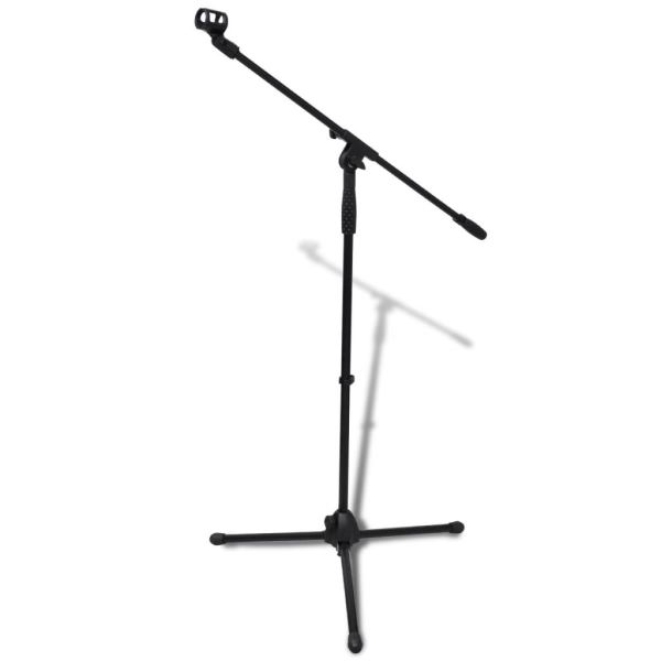vidaXL Stativ microfon reglabil