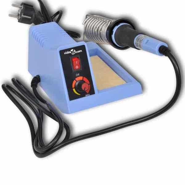 Analog Staţie de lipit 48 W cu Accesorii