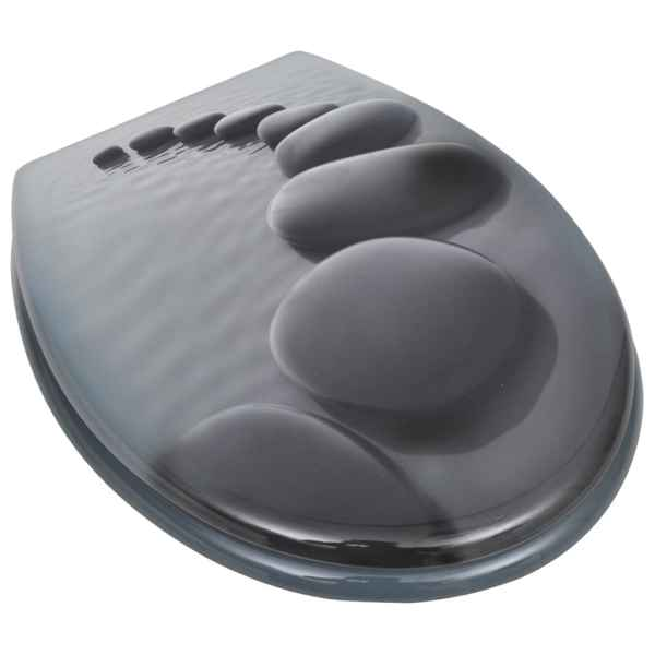 Capac WC, MDF, model pietre