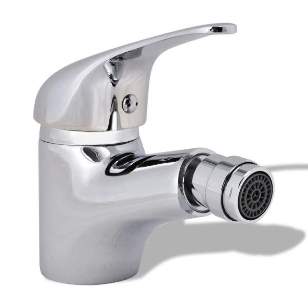 vidaXL Baterie robinet pentru bideu baie, crom